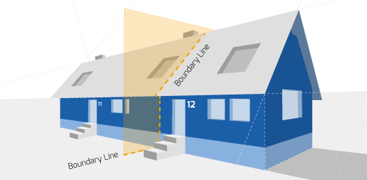 Party Wall illustration for Ripon