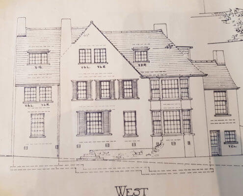 Ripon  Surveyors. Building Plan of an old traditional house